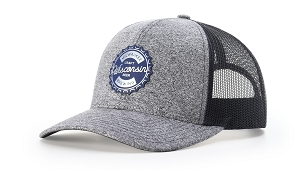115CH - Richardson Low Pro Heather Trucker