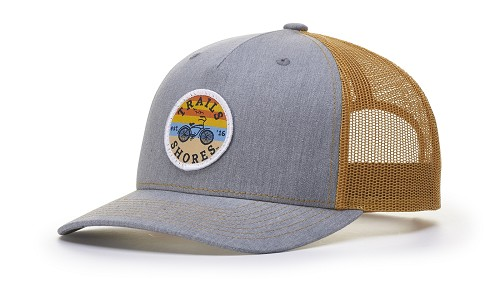 112FP - Richardson Five Panel Trucker Cap